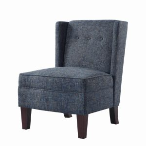 Living Room Accent Chair in Grey